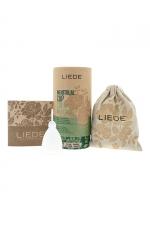 Cup menstruelle blanche petite taille - Liebe - Coupe menstruelle 100% silicone, pratique et hygiénique, écologique et réutilisable, modèle taille S coloris blanc, marque Liebe.