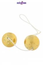 Boules de Geisha Gold Balls - Boules de geisha dorées à prix serré pour se faire plaisir sans trop dépenser.