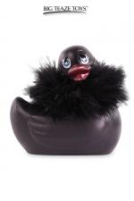 Mini canard vibrant Duckie Paris - noir - Le célèbre canard vibrant  en version mini Paris noir. nouveau modèle plus silencieux avec 7 modes de vibrations.