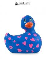 Mini canard vibrant Romance violet et rose - Déclinaison violette et rose du célèbre canard vibrant dans la collection  Romance .  I Rub My Duckie est désormais en version 2.0.