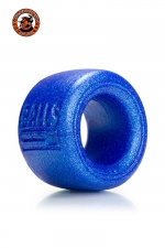 Balls-T Ballstretcher - bleu - Le must des Ball-stretchers en matière de sensations et d'ajustement aux testicules, marque Oxballs, version small, coloris bleu.