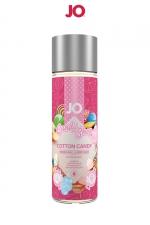 Lubrifiant aromatisé Barbe à papa 60 ml - Lubrifiant aromatisé comestible parfum Barbe à papa au format 60 ml de la marque Américaine System Jo.