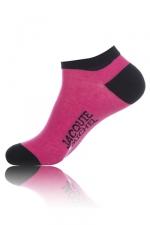 Chaussettes courtes  Jacquie & Michel - rose - Paire de chaussettes Jacquie et Michel pour hommes, tige basse, couleurrose.