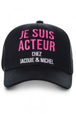 Casquette Jacquie et Michel Acteur - La casquette J&M Acteur, la casquette ultime pour faire fantasmer les filles !