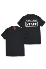 Tee-shirt J&M Staff (dos) - T-shirt humoristique Jacquie et Michel, avec inscription  STAFF  dans le dos, pour impressionner votre entourage !