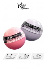 Pack de bombes de bain avec messages cachés - Alimentez vos jeux coquins dans le bain avec les Sexplosion Bath Bombs!