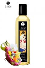 Huile de massage érotique - Fusion d'Asie - Huile de massage érotique  Irrésistible  au parfum fusion d'Asie pour éveiller les sens et la réceptivité amoureuse, par Shunga.