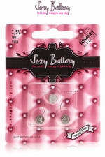 Sexy battery - Piles LR41 x3 - 3 piles  Sexy Battery  de type LR41 au lithium pour faire fonctionner vos sextoys.