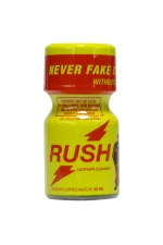 Poppers Rush 9 ml - Avec son flacon jaune, on le reconnait entre tous: Poppers Rush, exigez l'original!