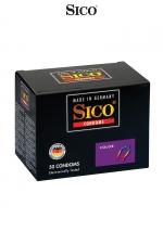 50 préservatifs Sico COLOUR - Préservatifs colorés et aromatisés (banane, fraise, menthe, tutti frutti) pour des jeux amoureux encore plus fun.